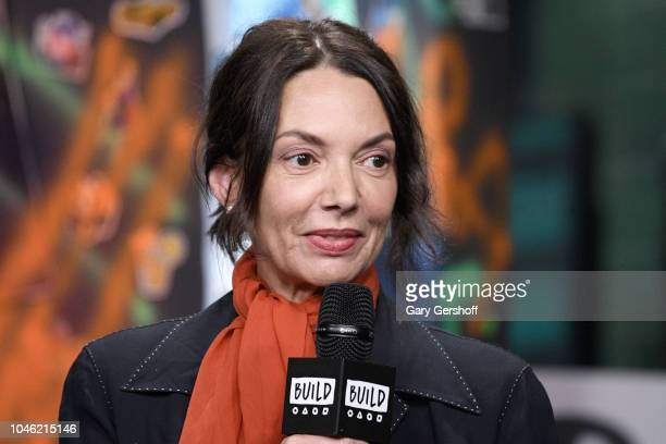 Actress Joanne Whalley visits Build Series to discuss the Netflix series 'Daredevil' at Build Studio on October 5, 2018 in New York City.