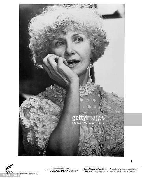 Actress Joanne Woodward in a scene from the movie The Glass Menagerie circa 1987