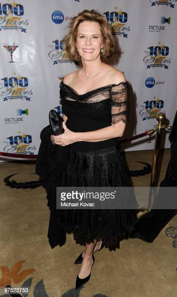 Actress JoBeth Williams arrives at the 20th Annual Night Of 100 Stars Awards Gala at Beverly Hills Hotel on March 7 2010 in Beverly Hills California