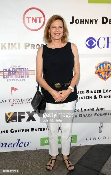Actress JoBeth Williams attends the inagural SAG Foundation Golf Classic Celebrity Benefit at Lakeside Golf Club on August 16 2010 in Toluca Lake...
