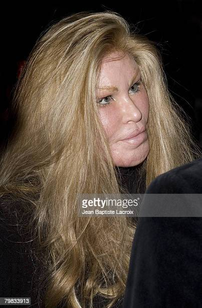 Actress Jocelyn Wildenstein sighting on February 18 2008 in Hollywood California