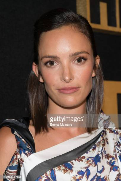 Actress Jodi Balfour arrives at HBO's Post Emmy Awards Reception at the Plaza at the Pacific Design Center on September 17 2018 in Los Angeles...