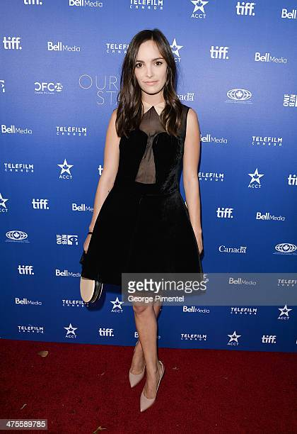 Actress Jodi Balfour attends Canada's Stars Of the Awards Season presented by TeleFilm on February 27 2014 in Los Angeles California