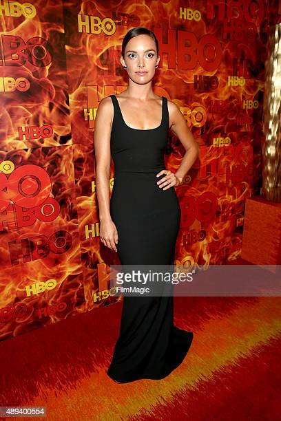 Actress Jodi Balfour attends HBO's Official 2015 Emmy After Party at The Plaza at the Pacific Design Center on September 20 2015 in Los Angeles...
