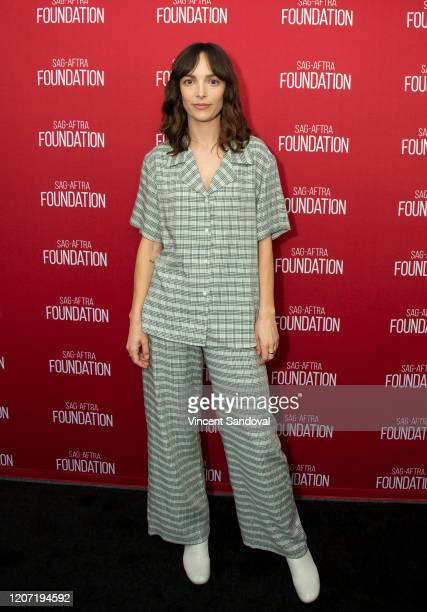 Actress Jodi Balfour attends SAGAFTRA Foundation Conversations presents The Rest Of Us at SAGAFTRA Foundation Screening Room on February 18 2020 in...