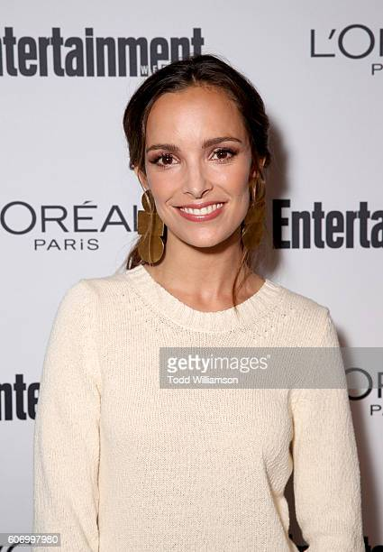 Actress Jodi Balfour attends the 2016 Entertainment Weekly PreEmmy party at Nightingale Plaza on September 16 2016 in Los Angeles California