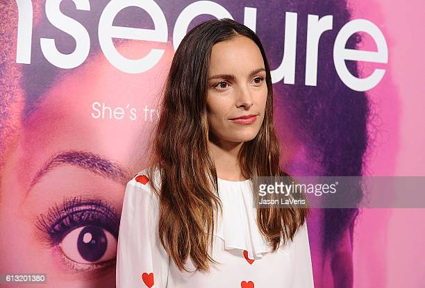 Actress Jodi Balfour attends the premiere of Insecure at Nate Holden Performing Arts Center on October 6 2016 in Los Angeles California
