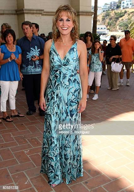 Actress Jodi Benson arrives at the DVD launch of Walt Disney's 'Little Mermaid Ariel's Beginning held at the Avalon Casino on Catalina Island on...