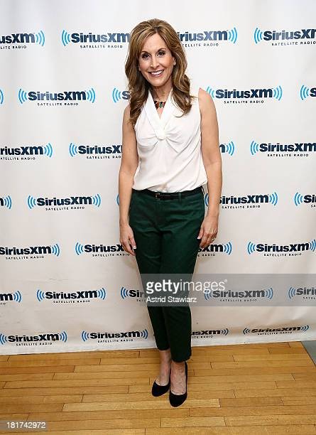 Actress Jodi Benson who provided the voice of Ariel in Walt Disney's 1989 animated movie 'The Little Mermaid' visits the SiriusXM Studios on...