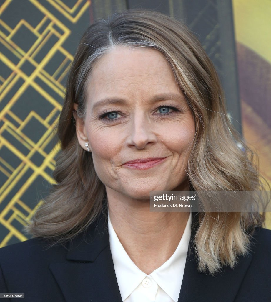 Actress Jodi Foster attends Global Road Entertainment's 'Hotel Artemis' Premiere at the Regency Village Theatre on May 19, 2018 in Westwood, California.