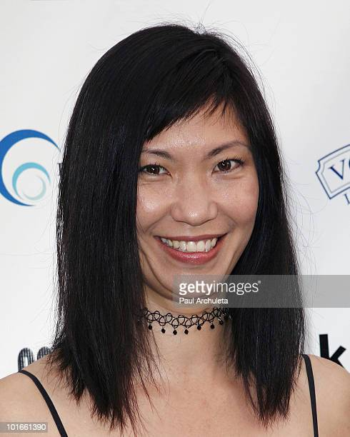 Actress Jodi Fung arrives at the 1st annual My Ocean Planet fundraiser benefitting project Kaisei at The Malibu Lumber Yard on June 5 2010 in Malibu...