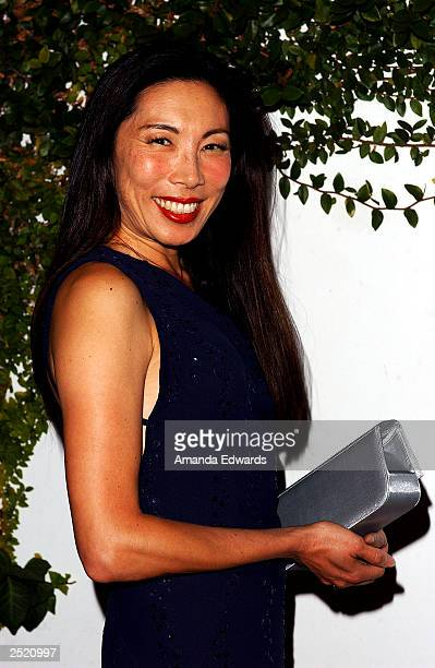Actress Jodi Long arrives at the Fox TV Emmy After Party at Mortons on September 21 2003 in West Hollywood California