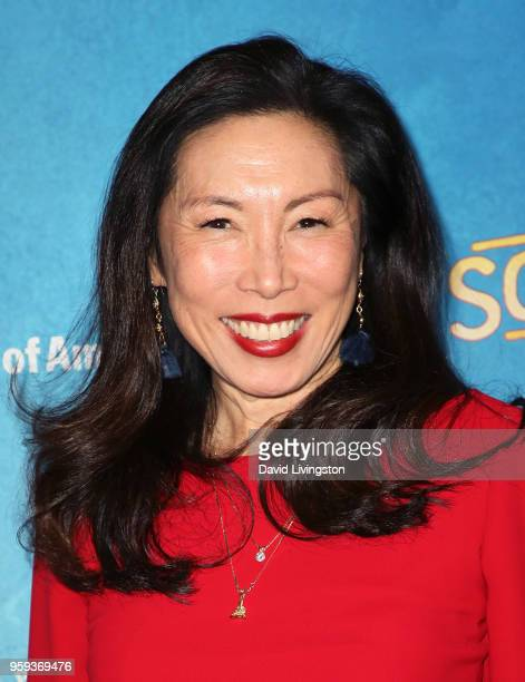 Actress Jodi Long attends the opening night of 'Soft Power' presented by the Center Theatre Group at the Ahmanson Theatre on May 16 2018 in Los...