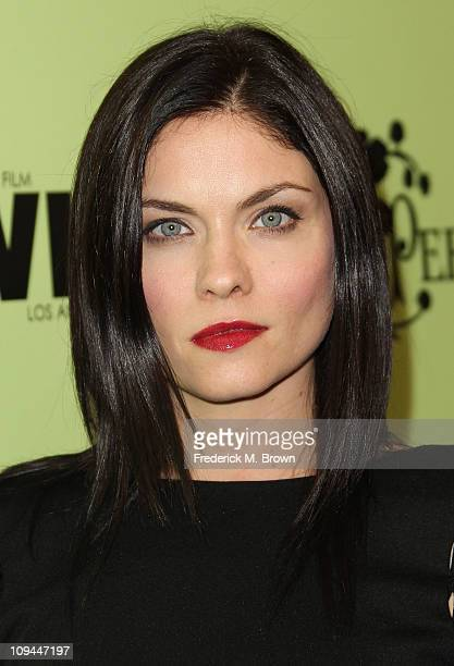 Actress Jodi Lyn O' Keefe attends the Fourth Annual Women in Film Pre-Oscar Cocktail Party at the Soho House on February 25, 2011 in West Hollywood,...