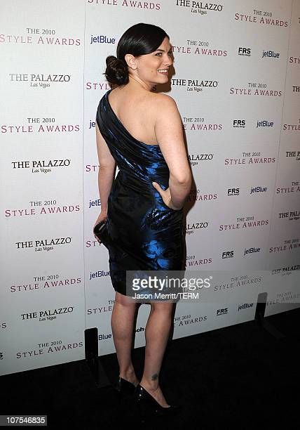 Actress Jodi Lyn O'Keefe arrives at the 2010 Hollywood Style Awards at the Hammer Museum on December 12 2010 in Westwood California