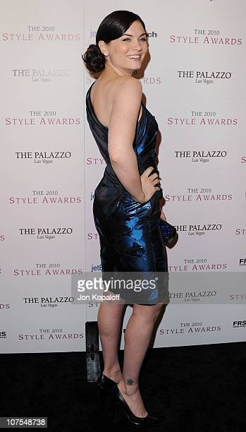 Actress Jodi Lyn O'Keefe arrives at the 2010 Hollywood Style Awards at Billy Wilder Theater at The Hammer Museum on December 12 2010 in Westwood...