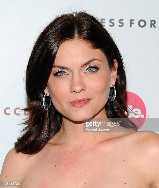 """Actress Jodi Lyn O'Keefe arrives at the 2nd Annual """"Give & Get Fete"""" at the SoHo House on August 16, 2010 in West Hollywood, California."""