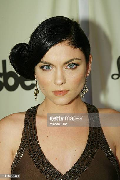 Actress Jodi Lyn O'Keefe arrives at the 7th Annual APLA Oscar viewing party held at The Abbey on February 24 2008 in West Hollywood California