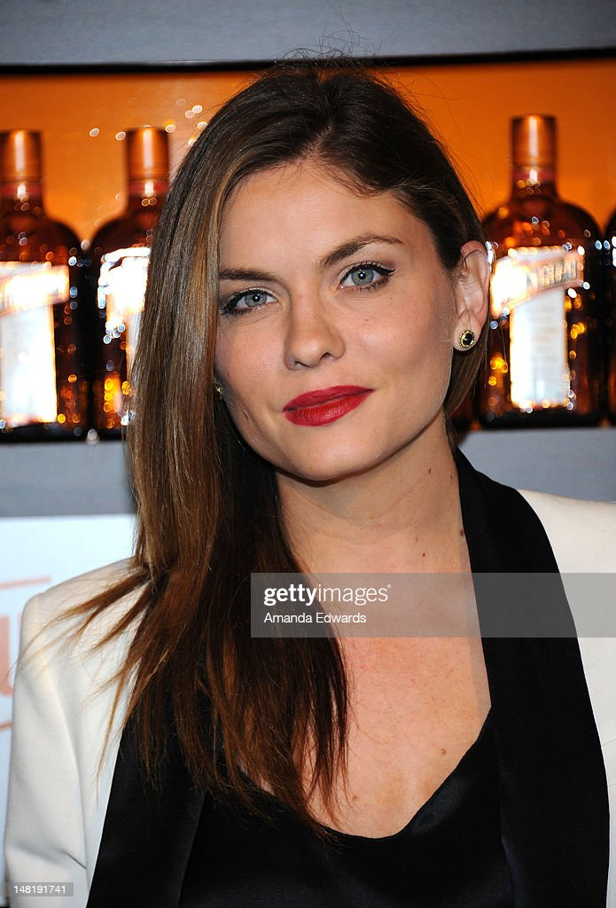 Actress Jodi Lyn O'Keefe arrives at the Dita Von Teese and Cointreau Launch Cointreau Poolside Soirees event at the Beverly Hills Hotel on July 11, 2012 in Beverly Hills, California.