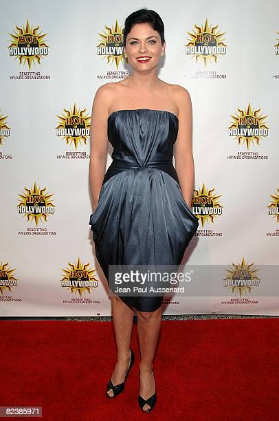 Actress Jodi Lyn O'Keefe arrives at the third annual Hot in Hollywood held at Avalon on August 16 2008 in Hollywood California