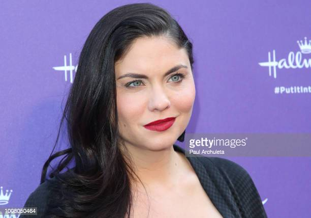 Actress Jodi Lyn O'Keefe attends Hallmark's 'Put In Into Words' campaign launch party at Lombardi House on July 30 2018 in Los Angeles California