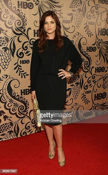 Actress Jodi Lyn O'Keefe attends HBO's post Emmy Awards reception at the Pacific Design Center on September 20 2009 in West Hollywood California