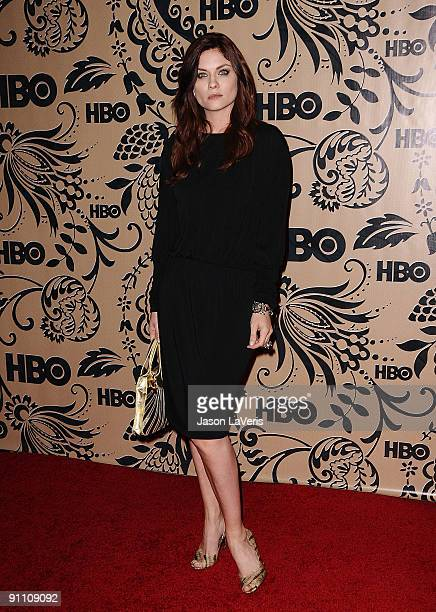 Actress Jodi Lyn O'Keefe attends HBO's post Emmy Awards reception at Pacific Design Center on September 20 2009 in West Hollywood California