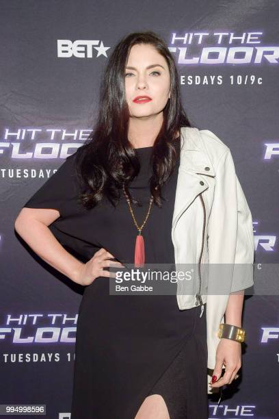Actress Jodi Lyn O'Keefe attends Hit The Floor Clips Conversation at the Paley Center For Media on July 9 2018 in New York City