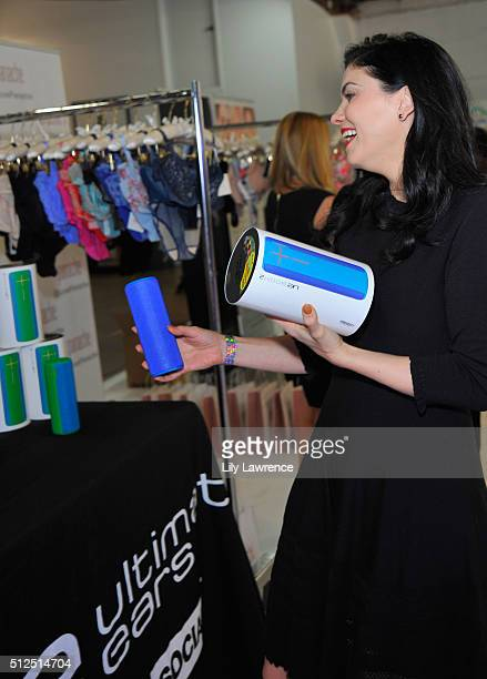 Actress Jodi Lyn O'Keefe attends Kari Feinstein's Style Lounge presented by LIFX on February 26 2016 in Los Angeles California
