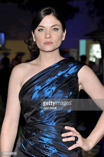 Actress Jodi Lyn O'Keefe attends the 2010 Hollywood Style Awards with The Palazzo Las Vegas Klipsch and FRS Healthy Energy at the Hammer Museum on...