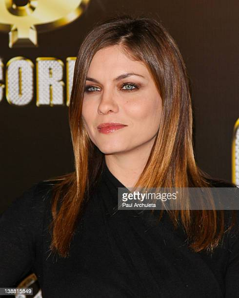 Actress Jodi Lyn O'Keefe attends the 3rd annual Cash Money Records PreGRAMMY Awards Party on February 11 2012 in Los Angeles California