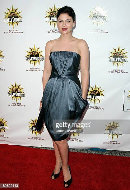 Actress Jodi Lyn O'Keefe attends the 3rd annual Hot In Hollywood event at The Avalon on August 16 2008 in Hollywood California