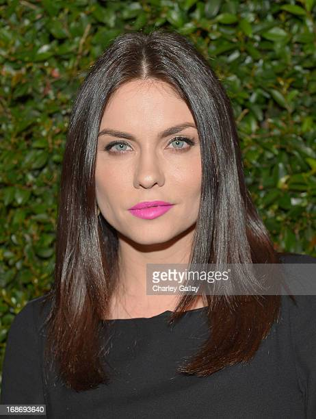 Actress Jodi Lyn O'Keefe attends Vogue and MAC Cosmetics dinner hosted by Lisa Love and John Demsey in honor of Prabal Gurung at the Chateau Marmont...