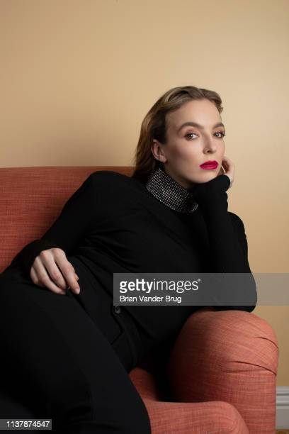 Actress Jodie Comer is photographed for Los Angeles Times on February 9 2019 in Pasadena California PUBLISHED IMAGE CREDIT MUST READ Brian van der...