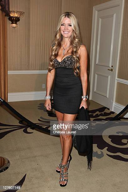 Actress Jodie Fisher arrives at the 21st Annual Night of 100 Stars Awards Gala at Beverly Hills Hotel on February 27 2011 in Beverly Hills California