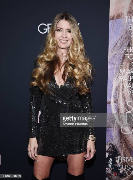 Actress Jodie Fisher arrives at the GENLUX Issue Release Party hosted by Kristin Cavallari and Carly Steel on March 15 2019 in Beverly Hills...
