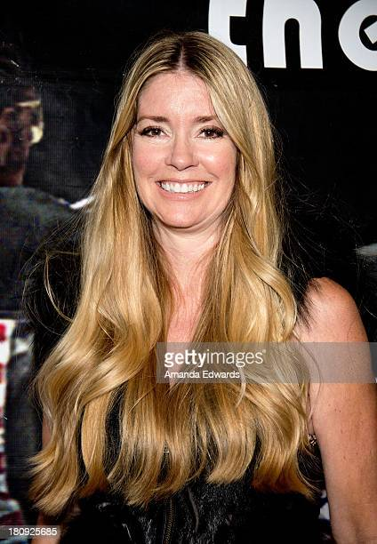 Actress Jodie Fisher attends the Easy Rider The Ride Back 'RideIn' premiere at Bartels' HarleyDavidson on September 17 2013 in Marina del Rey...