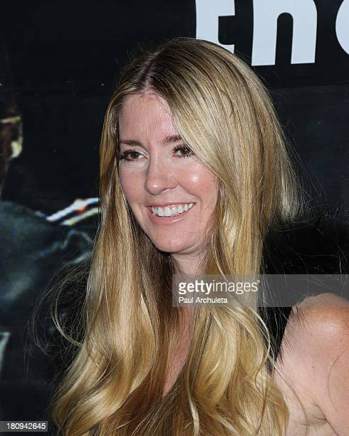 Actress Jodie Fisher attends the screening of Easy Rider The Ride Back 'RideIn' at Bartels' HarleyDavidson on September 17 2013 in Marina del Rey...