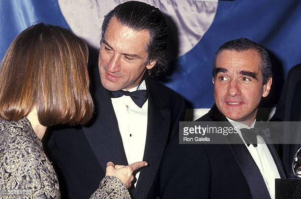 Actress Jodie Foster actor Robert De Niro and director Martin Scorsese attend the Sixth Annual American Cinematheque Award Salute to Martin Scorsese...