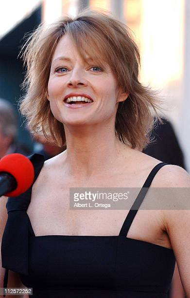 Actress Jodie Foster arrives at Cracked Xmas 10 to benefit The Trevor Project at Wiltern Theater on December 2 2007 in Los Angeles California