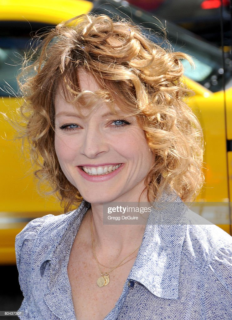 Actress Jodie Foster arrives at the world premiere of 'Nim's Island on March 30, 2008 at Grauman's Chinese Theater in Hollywood, California.