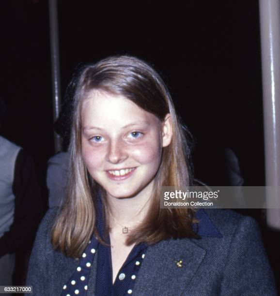 Actress Jodie Foster attends an event in circa 1977 in Los Angeles California