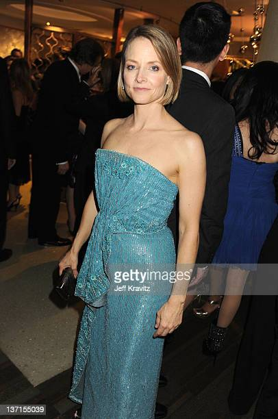 Actress Jodie Foster attends HBO's Official After Party for the 69th Annual Golden Globe Awards held at The Beverly Hilton hotel on January 15, 2012...
