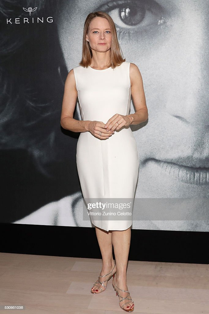 Actress Jodie Foster attends Kering Talks Women in Motion at the 69th Cannes Film Festival on May 12, 2016 in Cannes, .