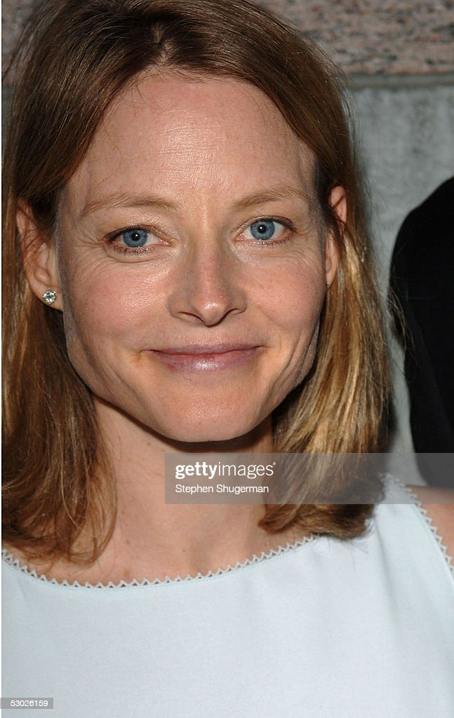 Actress Jodie Foster attends The 2005 Tony Awards Party & 'The Julie Harris Award', which honored Stockard Channing, at the Skirball Center on June 5, 2005 in Los Angeles, California.