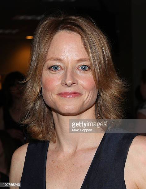 Actress Jodie Foster attends the 2010 New York Women In Film Television Designing Women Awards at Macy's Herald Square on May 25 2010 in New York City