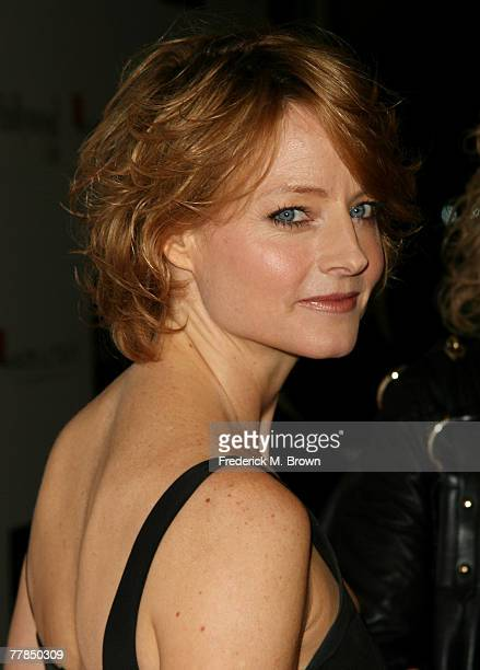 Actress Jodie Foster attends the Fifth Annual Hamilton and Hollywood Life's Behind the Camera Awards at the Highlands on November 11 2007 in...