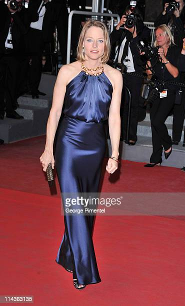 Actress Jodie Foster attends the Melancholia Premiere during the 64th Cannes Film Festival at the Palais des Festivals on May 18 2011 in Cannes France