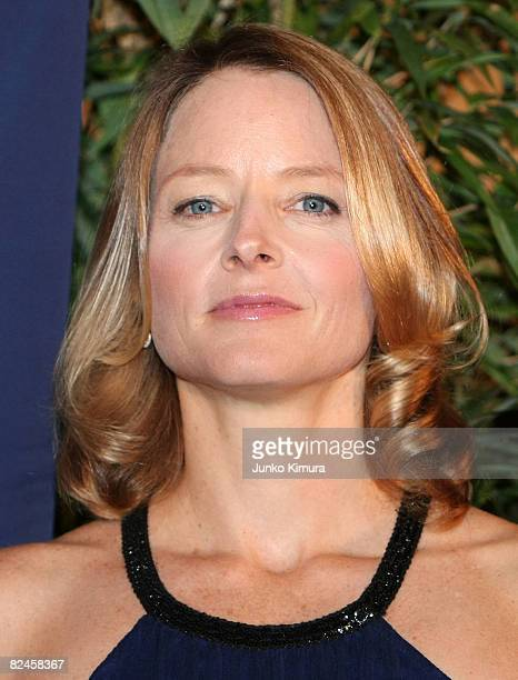 Actress Jodie Foster attends the 'Nim's Island' Japan premiere at Shinjuku Piccadilly on August 19 2008 in Tokyo Japan The film will open on...