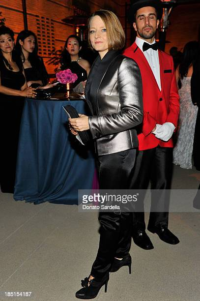 Actress Jodie Foster attends the Wallis Annenberg Center for the Performing Arts Inaugural Gala presented by Salvatore Ferragamo at the Wallis...